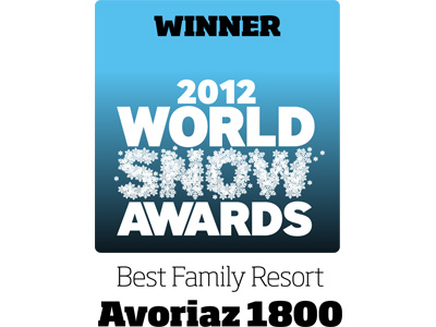 Winner world family resort snow awards 2012