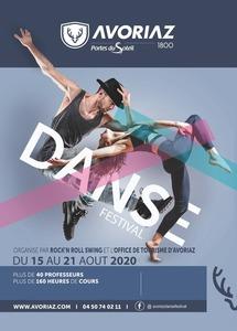 ANNULÉ CAUSE COVID-19 Festival de danse du 15 au 21 août 2020