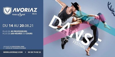 Avoriaz Danse Festival du 14 au 20/08/2021
