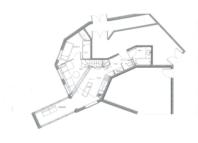 Chapka 3 pièces cabine duplex AVORIAZ